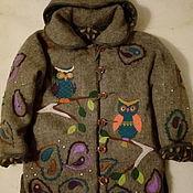 Одежда handmade. Livemaster - original item Winter jacket made of wool