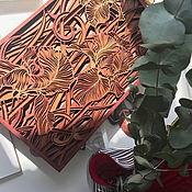 """Панно ручной работы. Ярмарка Мастеров - ручная работа Панно: """"Солнечные цветы"""". Handmade."""