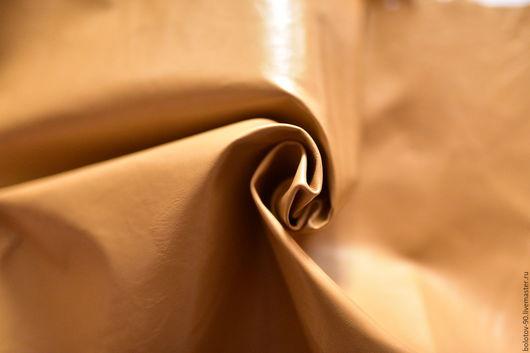 Шитье ручной работы. Ярмарка Мастеров - ручная работа. Купить Натуральная кожа.Италия.Светло-коричневый цвет.. Handmade. разноцветный