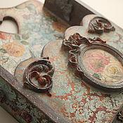 Для дома и интерьера ручной работы. Ярмарка Мастеров - ручная работа Винтажная ключница. Handmade.