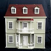 Кукольный домик 3-х этажный ( масштаб 1:12)