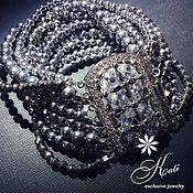 Украшения handmade. Livemaster - original item Bracelets: Silver waterfall. Handmade.