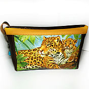 Сумки и аксессуары handmade. Livemaster - original item Large cosmetic bag