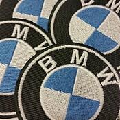 Материалы для творчества ручной работы. Ярмарка Мастеров - ручная работа шеврон BMW. Handmade.