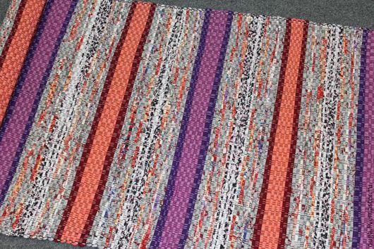 Текстиль, ковры ручной работы. Ярмарка Мастеров - ручная работа. Купить Равнина № 1583 Домотканый половик / коврик. Handmade.