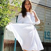 Одежда handmade. Livemaster - original item Summer MIDI dress