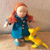 Куклы и игрушки ручной работы. Ярмарка Мастеров - ручная работа Кукла к Рождеству. Handmade.