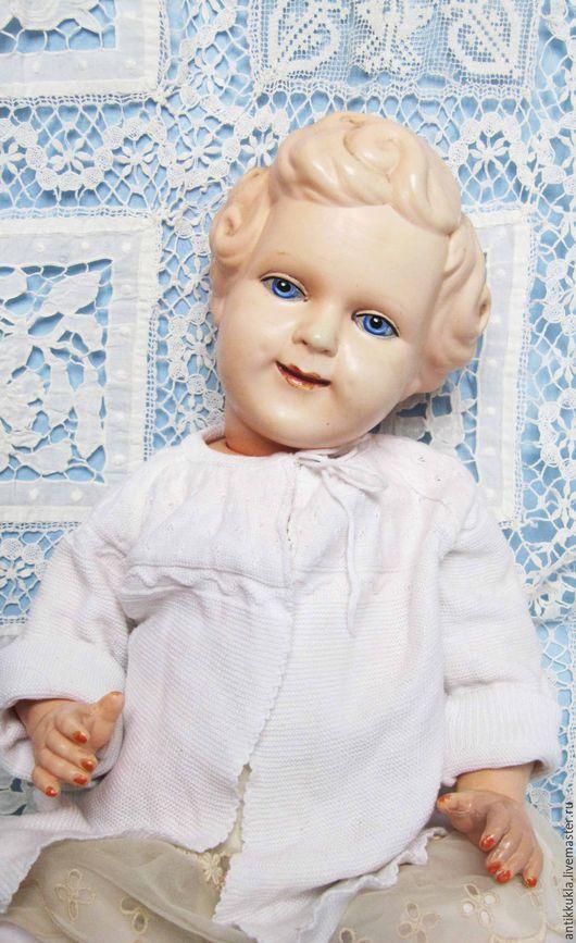 Винтажные куклы и игрушки. Ярмарка Мастеров - ручная работа. Купить Шраерка. Handmade. Бежевый, редкая кукла