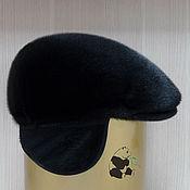 Аксессуары handmade. Livemaster - original item Hat Norwegian fur seals. Mens fur soft cap CLASSIC. Handmade.