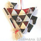 Куклы и игрушки ручной работы. Ярмарка Мастеров - ручная работа Игрушка-подвеска Бабка Ёжка 2. Handmade.