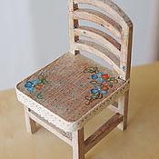 Куклы и игрушки ручной работы. Ярмарка Мастеров - ручная работа стульчик для куклы. Handmade.
