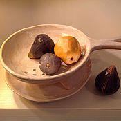 Посуда ручной работы. Ярмарка Мастеров - ручная работа Дуршлаг для фруктов Лето. Handmade.