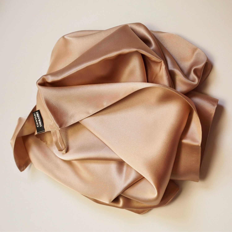 Шёлковое полотенце для волос и тела 50*95, Полотенца, Видное,  Фото №1