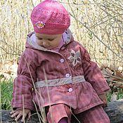 Работы для детей, ручной работы. Ярмарка Мастеров - ручная работа Курточка-бохо для девочки. Handmade.