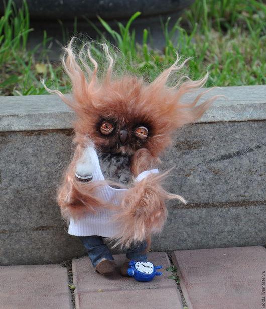 Мишки Тедди ручной работы. Ярмарка Мастеров - ручная работа. Купить Сова С добрым утром. Handmade. Коричневый