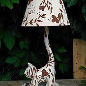 Подарки к праздникам ручной работы. Ярмарка Мастеров - ручная работа Лампа-кошка. Handmade.