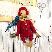Куклы и игрушки ручной работы. Ярмарка Мастеров - ручная работа Счастливая обезьянка). Handmade.