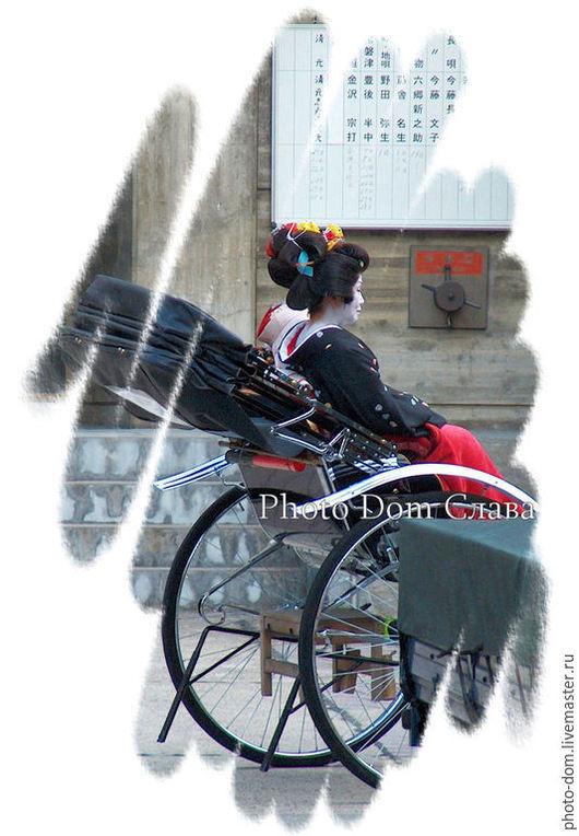 Люди, ручной работы. Ярмарка Мастеров - ручная работа. Купить Гейша. Киото.. Handmade. Фото, фотографика, фотография авторская