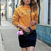 """Одежда ручной работы. Ярмарка Мастеров - ручная работа Дизайнерский свитер """"Natali Mechta"""".. Handmade."""