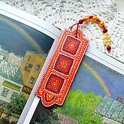 """Канцелярские товары ручной работы. Ярмарка Мастеров - ручная работа Закладка для книги """"Персидский ковер"""". Handmade."""