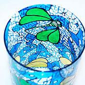 """Для дома и интерьера ручной работы. Ярмарка Мастеров - ручная работа Ваза """"Стрекозы"""". Handmade."""