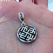 Украшения handmade. Livemaster - original item The Slavic Amulet Rodemich. Silver 925 art. One million eleven thousand three hundred five. Handmade.