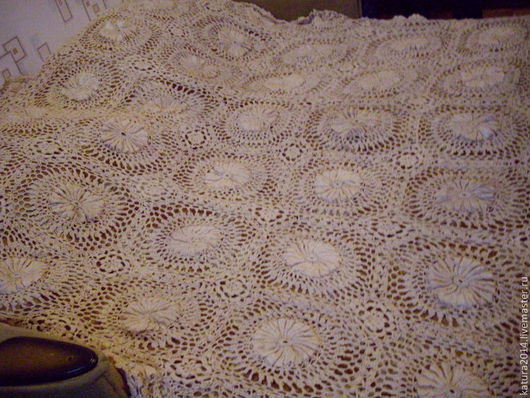 """Текстиль, ковры ручной работы. Ярмарка Мастеров - ручная работа. Купить Покрывало """"РОЗЫ"""". Handmade. Бежевый, покрывало, покрывало крючком"""