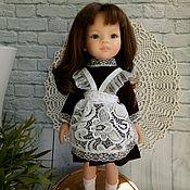 Одежда для кукол ручной работы. Ярмарка Мастеров - ручная работа Школьная форма для Паола Рейна. Handmade.