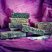 Мыло ручной работы. Ярмарка Мастеров - ручная работа Мыло-скраб для чувствительной и зрелой кожи. Handmade.