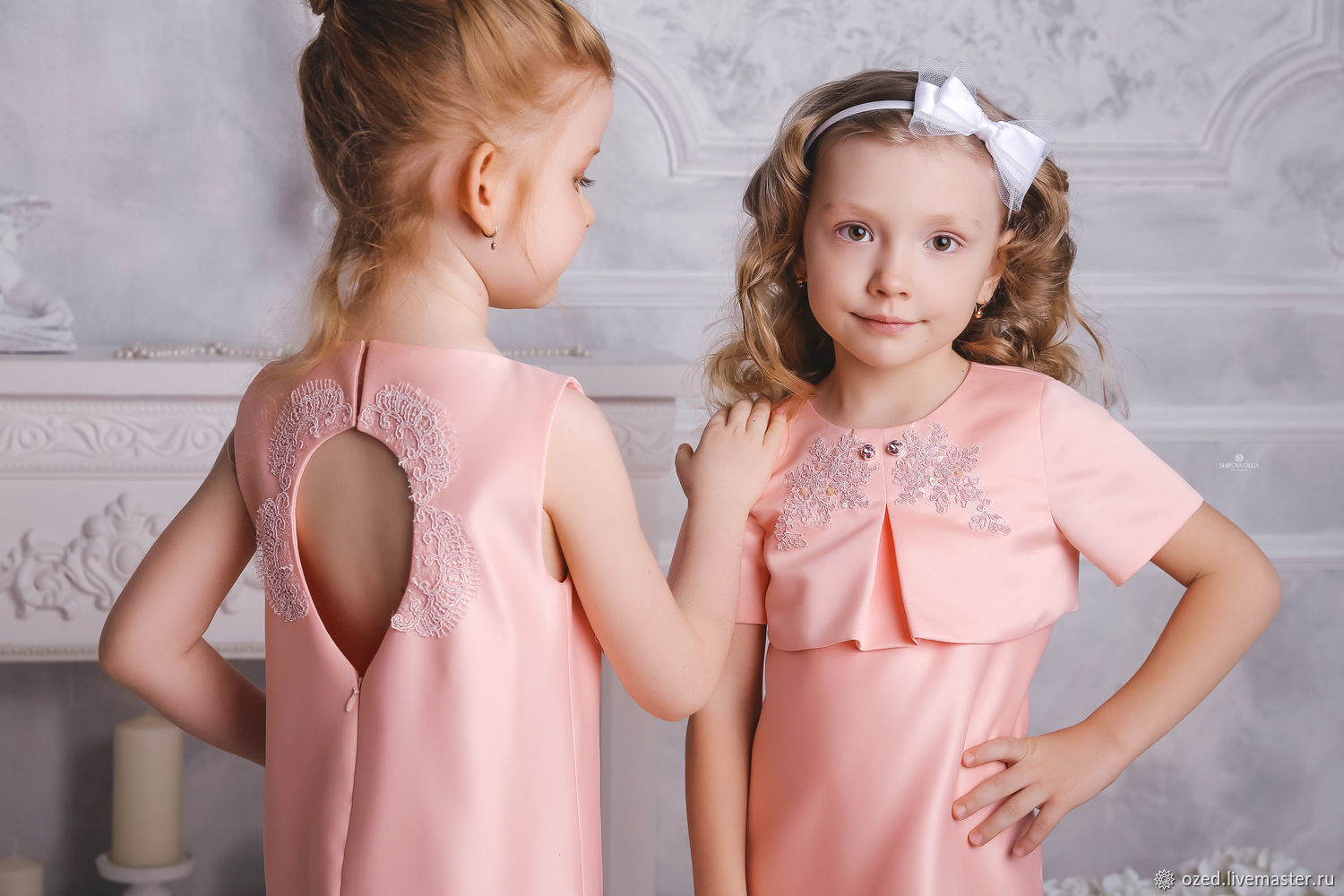 Peach dress with cutout back from the collection of Lollipop, Dresses, Lyubertsy,  Фото №1