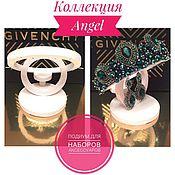 """Дизайн и реклама ручной работы. Ярмарка Мастеров - ручная работа Подиум для наборов (Ободок+серьги) """"Angel"""". Handmade."""