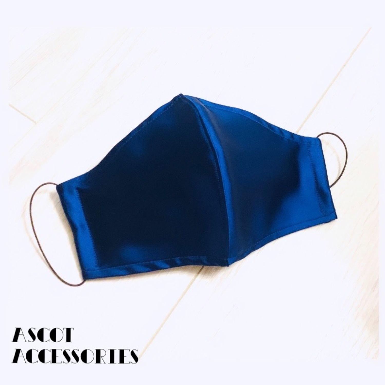 Многоразовая Маска - Натуральный шёлк Armani – купить на Ярмарке Мастеров – M4M2YRU | Защитные маски, Москва