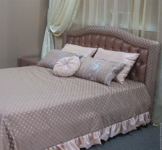 Мебель ручной работы. Ярмарка Мастеров - ручная работа. Купить Английская кровать Ар Деко. Handmade. Бежевый, английский стиль
