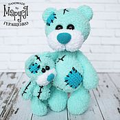 Куклы и игрушки ручной работы. Ярмарка Мастеров - ручная работа Мишки вязаные Me To You. Мама и малыш. (игрушки, вязаные крючком). Handmade.