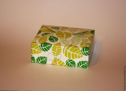 """Упаковка ручной работы. Ярмарка Мастеров - ручная работа. Купить Коробочка для мыла """"Тропики"""". Handmade. Коробка для мыла, подарочная коробка"""