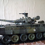 Куклы и игрушки ручной работы. Ярмарка Мастеров - ручная работа Игрушка-модель советского танка Т-80. Handmade.