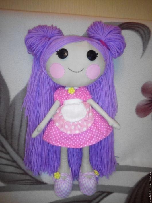 Куклы тыквоголовки ручной работы. Ярмарка Мастеров - ручная работа. Купить Текстильная кукла по мотивам Лалалупси-нити из хлопка. Handmade.