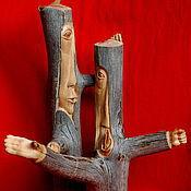 "Для дома и интерьера handmade. Livemaster - original item ""Discussion"" (a sculptural composition). Handmade."