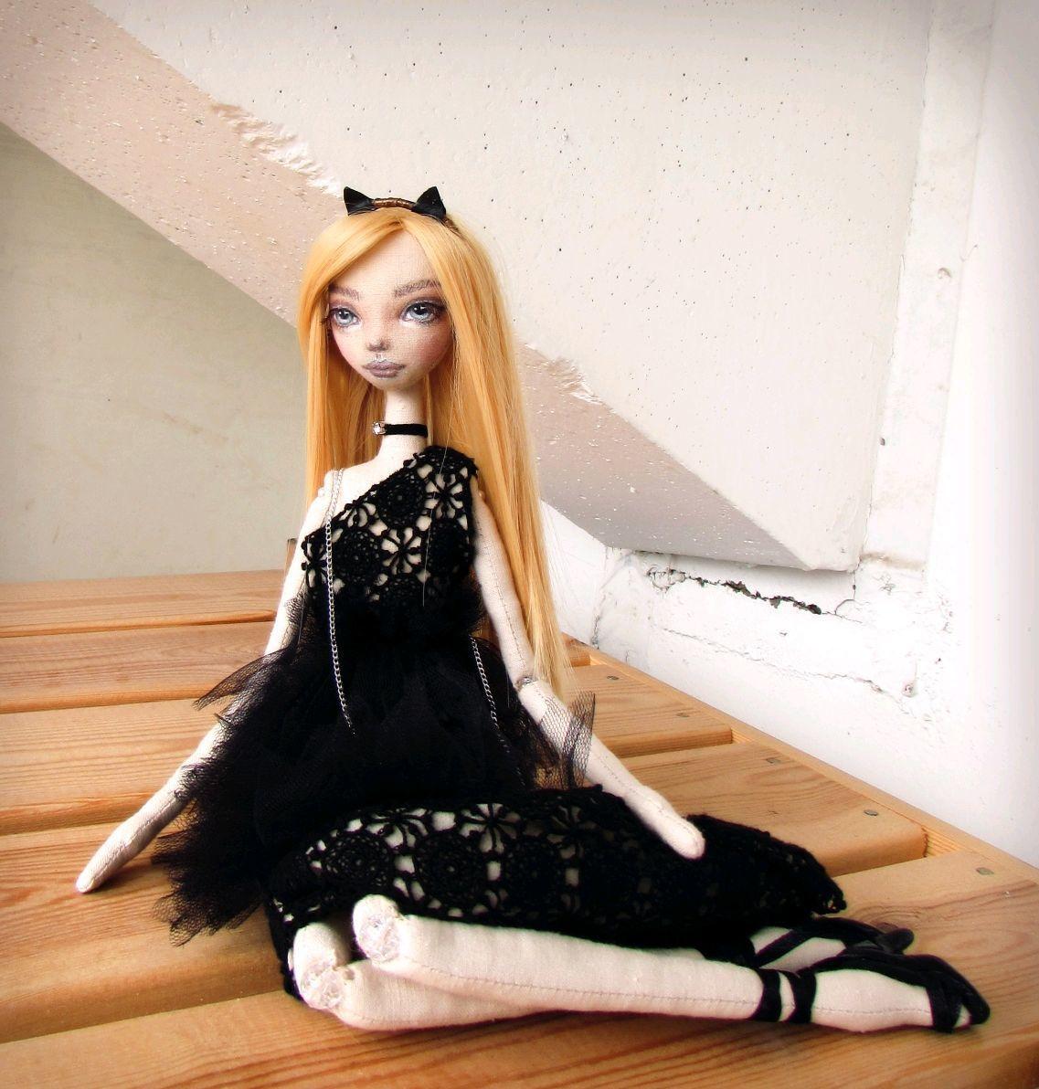 Авторская текстильная кукла. Лера, Куклы и пупсы, Москва,  Фото №1