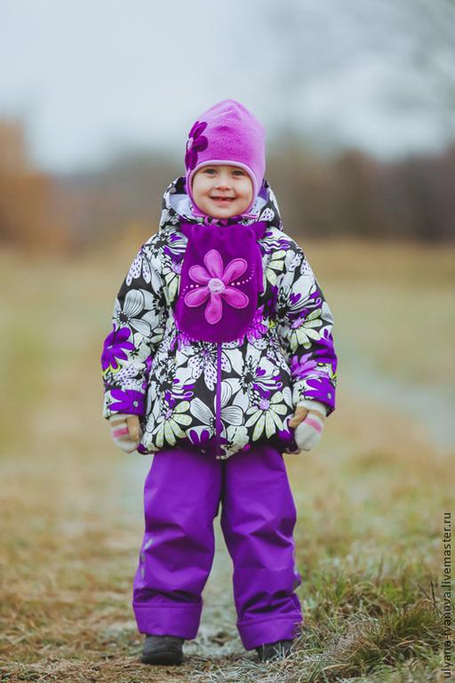 Одежда для девочек, ручной работы. Ярмарка Мастеров - ручная работа. Купить Комплект Букет. Handmade. Комплект, весенний комплект, аппликация