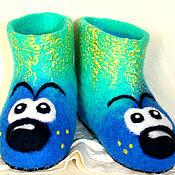 Обувь ручной работы. Ярмарка Мастеров - ручная работа Детские чуни. Handmade.