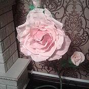 Торшеры ручной работы. Ярмарка Мастеров - ручная работа Торшеры: торшер роза. Handmade.