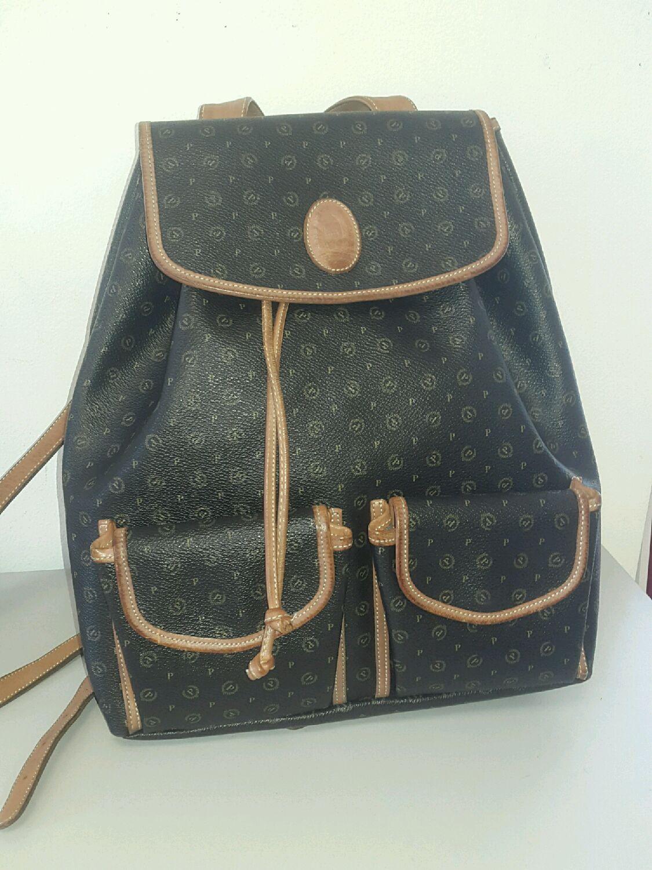 Винтаж: рюкзак Pollini винтаж оригинал, Винтажные сумки, Владивосток, Фото №1