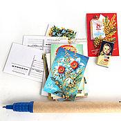 Открытки handmade. Livemaster - original item Mini cards 15 EA.