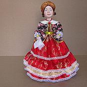 Куклы и пупсы ручной работы. Ярмарка Мастеров - ручная работа Кукла на чайник Кустодиевская купчиха. Handmade.