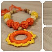 """Работы для детей, ручной работы. Ярмарка Мастеров - ручная работа Слингобусы """"Оранжевое настроение"""". Handmade."""