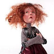 Куклы и игрушки ручной работы. Ярмарка Мастеров - ручная работа Авторская кукла. Нелетное настроение.. Handmade.