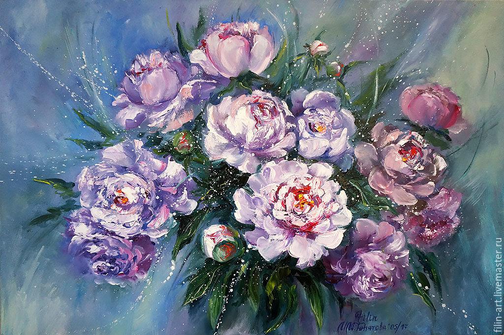 Фото цветов и картину живописи