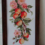 Картины и панно ручной работы. Ярмарка Мастеров - ручная работа Композиция с яблоками. Handmade.