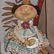 Коллекционные куклы ручной работы. Ярмарка Мастеров - ручная работа. Купить Принцесска. Handmade. Коричневый, кукла ручной работы, часы